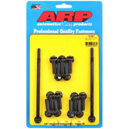 ARP Chevrolet Gen III / LS Series Small Block Oil Pan Bolt Kit - Black Oxide / Hex