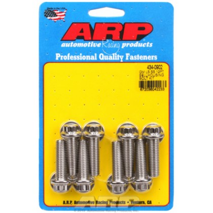 ARP Chevrolet Gen III/LS Small Block Bellhousing to Engine Block Bolt Kit - Stainless Steel / 12 Point