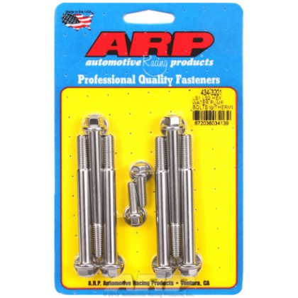 ARP Chevrolet LS1 LS2 Water Pump & Thermostat Housing - Stainless Steel / Hex