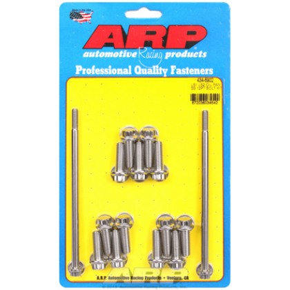 ARP Chevrolet Gen III / LS Series Small Block Oil Pan Bolt Kit - Stainless Steel / 12 Point