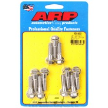 ARP Chevrolet Gen III / LS Series Small Block Intake Valley Cover Bolt Kit - Stainless Steel / Hex