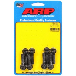 ARP Chevrolet Gen III/IV LS Series Timing Cover Bolt Kit - Black Oxide / 12 Point