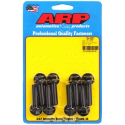 ARP Chevrolet Gen III/LS Small Block Bellhousing to Engine Block Bolt Kit - Black Oxide / Hex