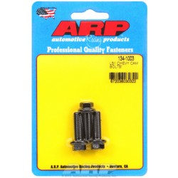 ARP Chevrolet Gen III LS1-LS6 Series Small Block Cam Retainer Bolt Kit - Black Oxide / Hex