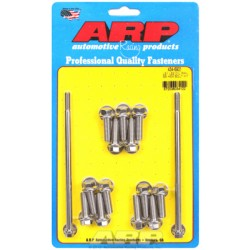 ARP Chevrolet Gen III / LS Series Small Block Oil Pan Bolt Kit - Stainless Steel / Hex