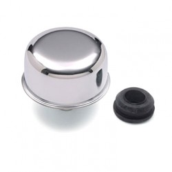 Chevrolet Push-In Oil Filler Cap (Chrome)