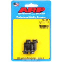 ARP Chevrolet Gen III/LS Series Small Block Cam Retainer Bolt Kit - Black Oxide / Hex