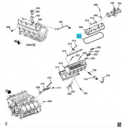 Gasket, Valve Rocker Arm Cover