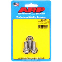 ARP Chevrolet Small Block & Big Block Lower Pulley Bolt Kit - Stainless Steel / 12 Point