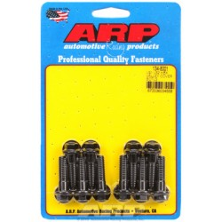 ARP Chevrolet Gen III / LS Series Small Block Intake Valley Cover Bolt Kit - Black Oxide / Hex