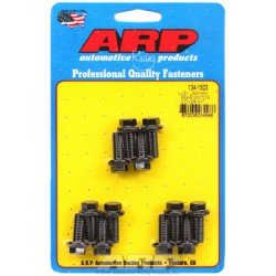 ARP Chevrolet Gen III/LS Series Small Block Rear Motor Cover Bolt Kit - Black Oxide / Hex