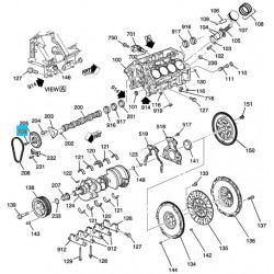 LS2, LS3 Bolt, Camshaft Sprocket