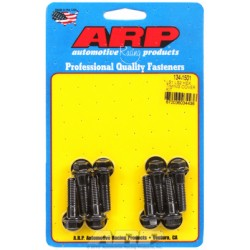 ARP Chevrolet Gen III/IV LS Series Timing Cover Bolt Kit - Black Oxide / Hex